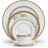 Vera Wang Wedgwood Vera Lace Gold 5-Piece Dinnerware Place Setting (5014697730)
