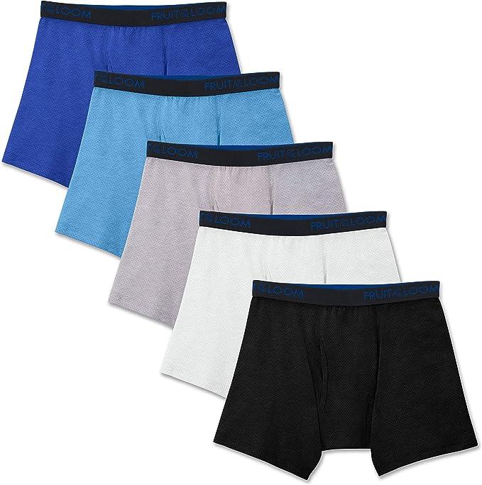 Fruit of the Loom Boys Cotton Boxer Brief Underwear Underwear