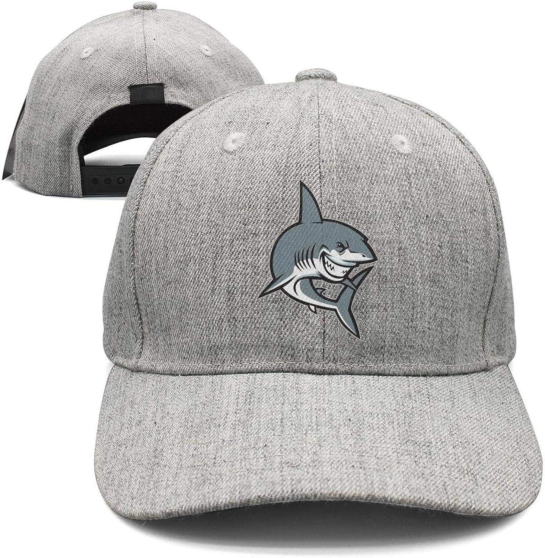 Women Men Megalodon Shark Print Strapback hat Adjustable Sports Cap Fashion caps
