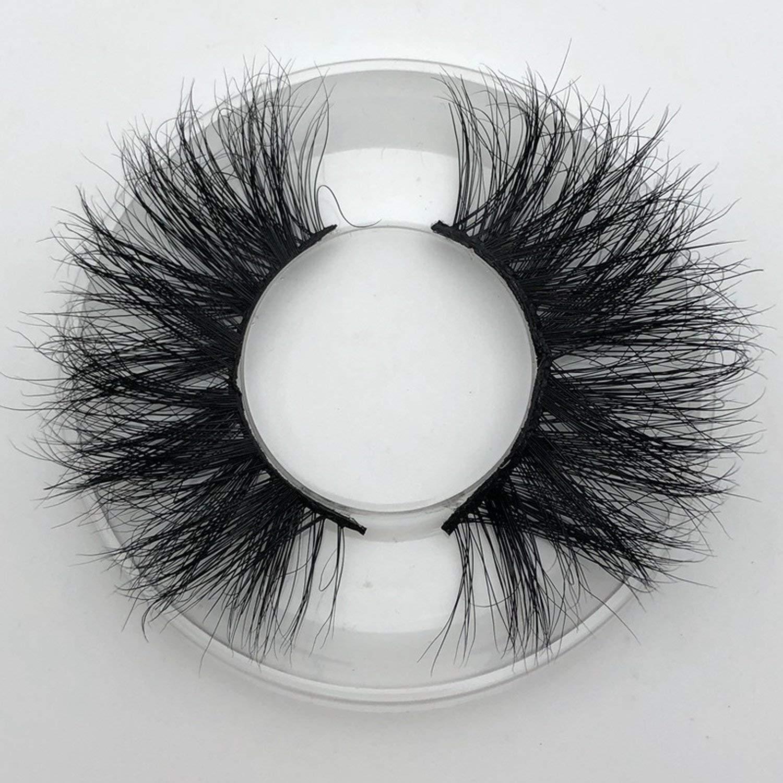5b299a211ce Amazon.com : 25mm Long 3D mink lashes E01 extra length mink eyelashes Big  dramatic volumn eyelashes strip individual false eyelash, C, 0.15mm, ...