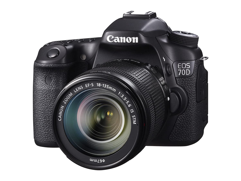 Camera Cheapest Canon Dslr Camera amazon com canon eos 70d digital slr camera with 18 135mm stm lens photo