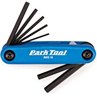 Park Tool AWS10 Fold-Up Hex Wrench Set 1.5-6 mm