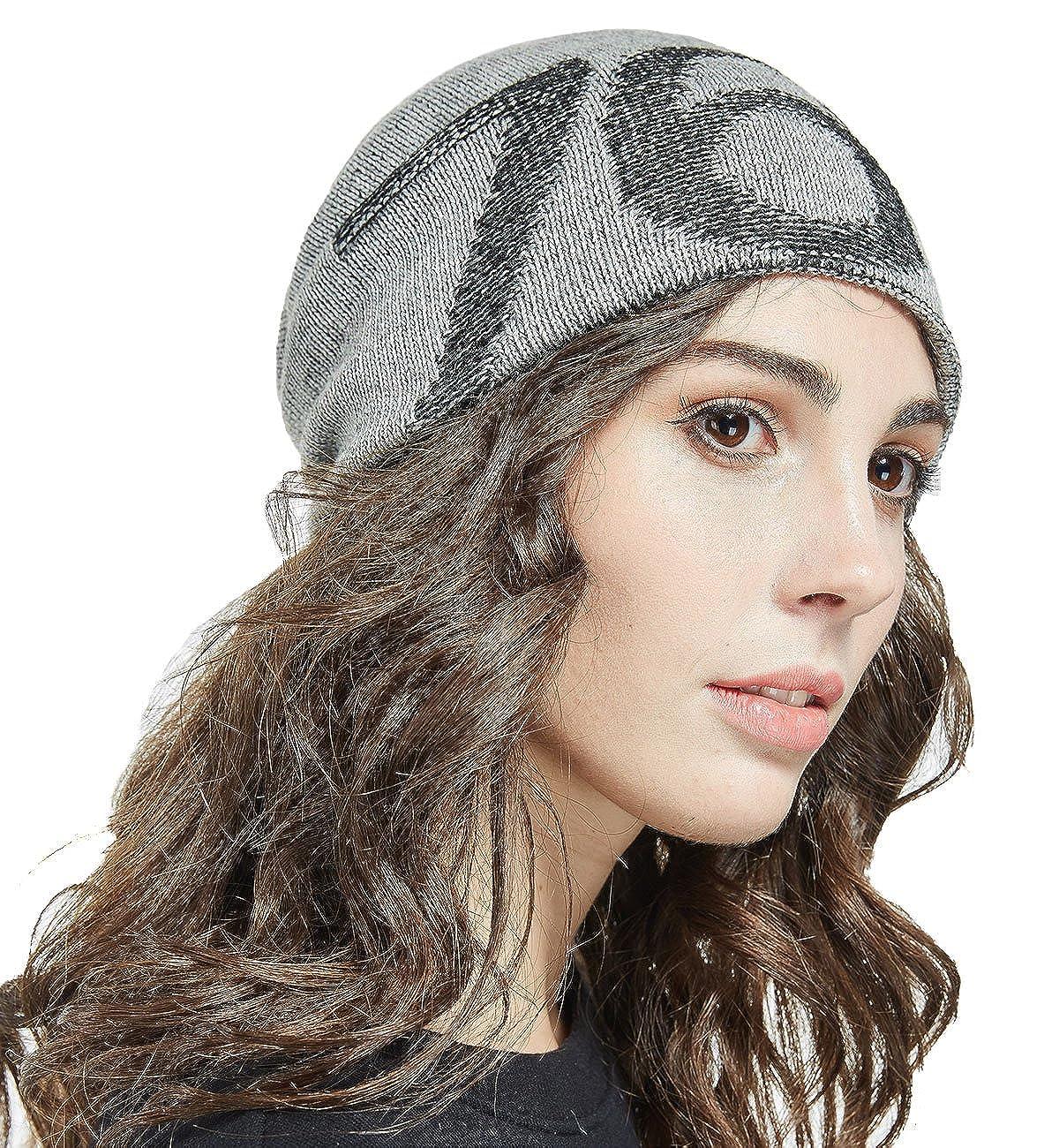 LETHMIK Slouchy Star Long Beanie Warm Winter Ski Skull Cap Knit Hat for Men /& Women