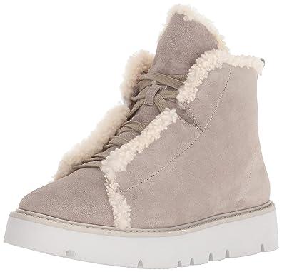 1aa39ed8fa374 Amazon.com | Gentle Souls Women's Trevor Hiker Cozy Sneaker Bootie ...