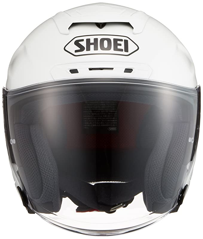 Amazon.com: Shoei J-FORCE4 Luminous White Size L (59cm) Helmet: Automotive