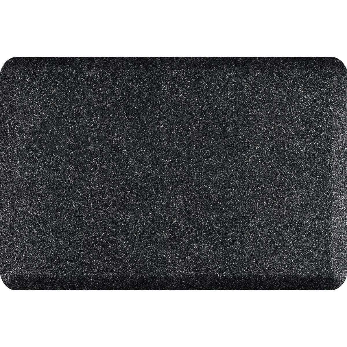 WellnessMats Granite 3 ' x 2 ' – Graniteオニキス   B07B4564ZZ