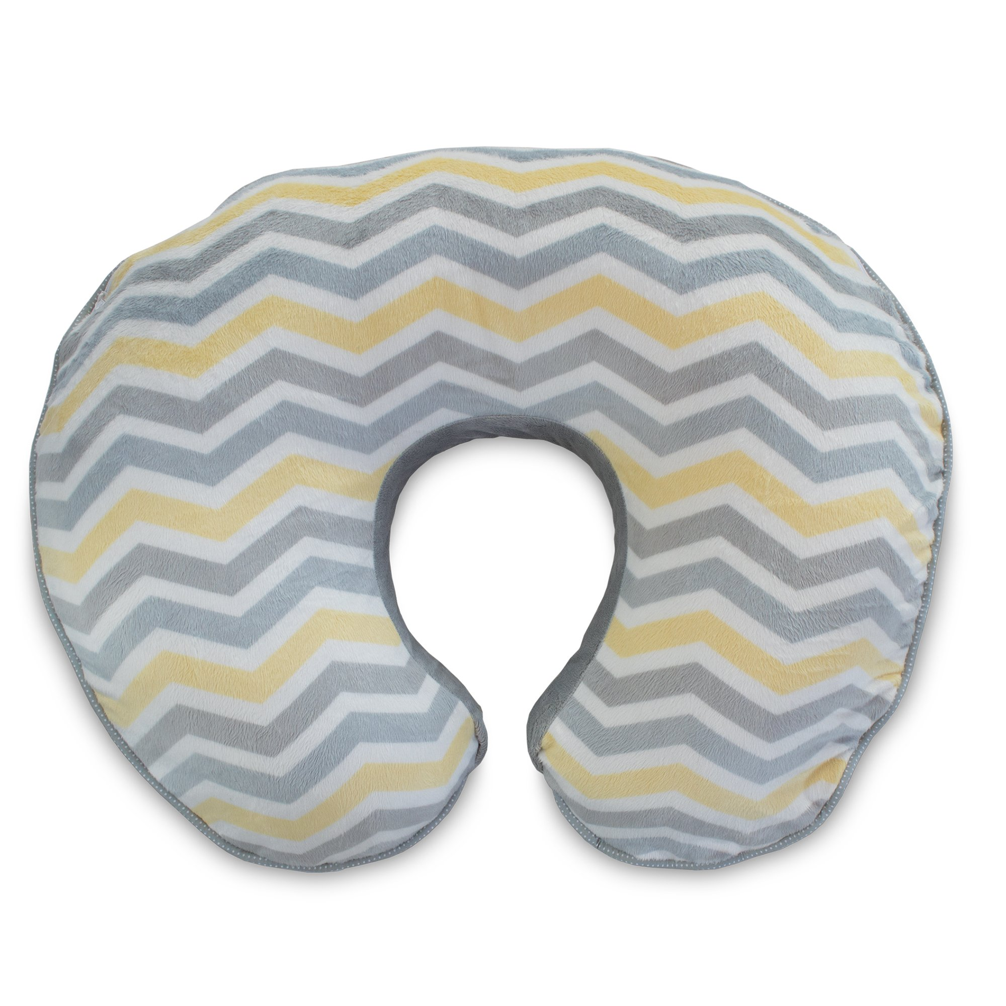 Boppy Pillow Slipcover, Boutique Gray Chevron