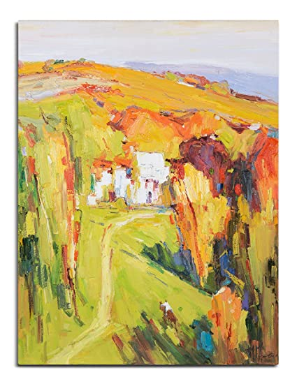 Amazon.com: Arari Fine Art Giclee Prints on Canvas Oil Painted ...