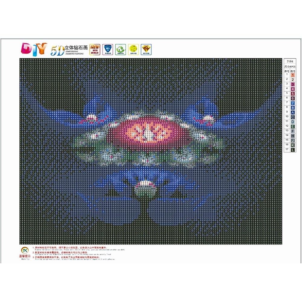 Lila Blumen Schmetterlinge DIY Diamond Painting 30 * 40cm sunnymi 5d Diamant Stickerei Full