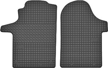 Motohobby Gummimatten Gummi Fußmatten Satz Für Mercedes Benz Vito Iii W447 V Klasse W447 Ab 2014 Passgenau Auto