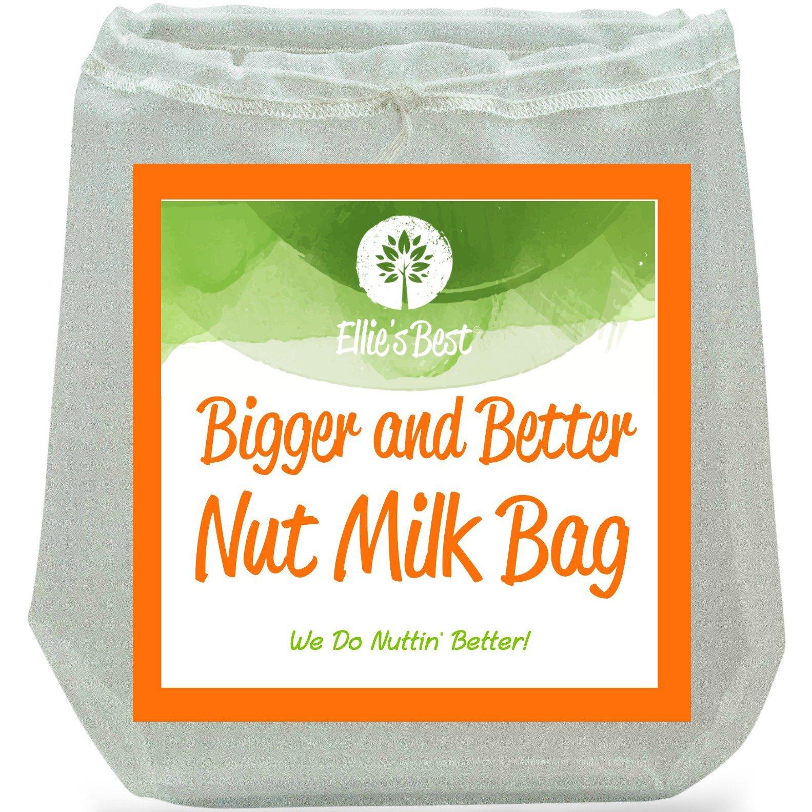 Pro Quality Nut Milk Bag Big 12 X12 Commercial Grade