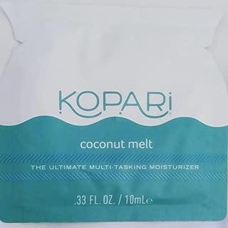 product image for KOPARI Coconut Melt Sample Packet Multitasking Moisturizer 100% Pure Organic Coconut Oil 0.33 oz
