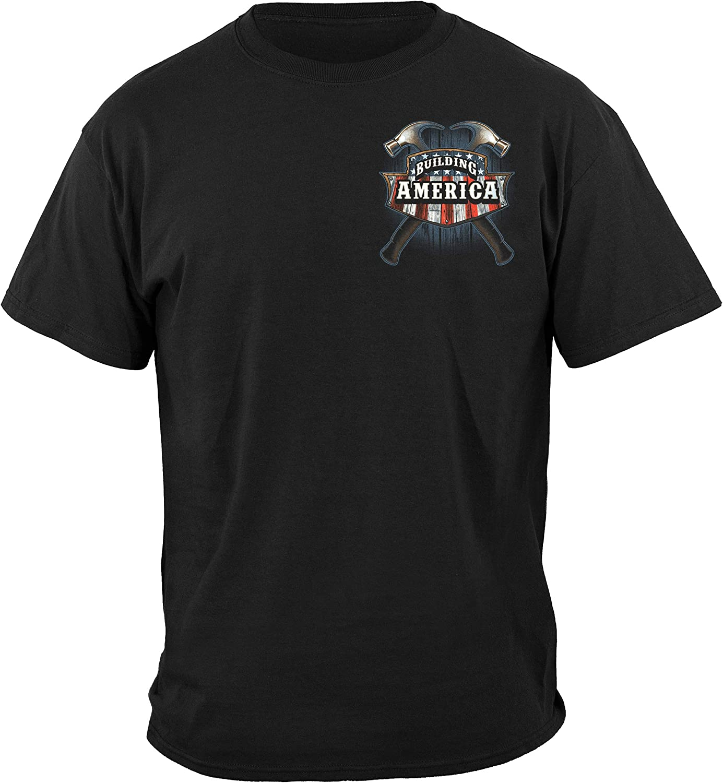 Erazor Bits T-Shirt American Carpenter Black