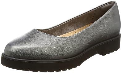 Mocasines para mujer, color gris , marca CLARKS, modelo Mocasines Para Mujer CLARKS BELLEVUE PARK Gris: Amazon.es: Zapatos y complementos