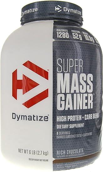 Amazon.com: Dymatize Super Mass Gainer Suplemento para ganar ...