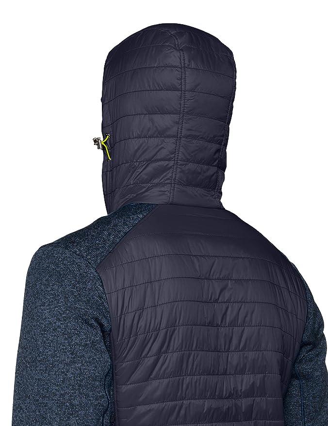 CMP Herren Hybrid Fleece Strickjacke