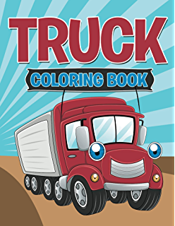 Truck Coloring Book Books For Kids Art Series