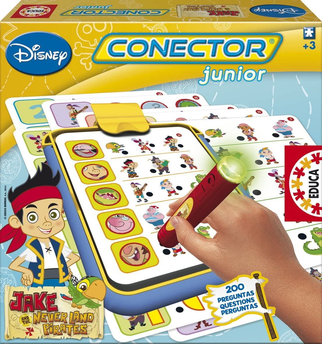Educa Juegos - Jake y los Piratas de Nunca Jamás Conector Junior (15745): Amazon.es: Juguetes y juegos