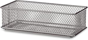 Design Ideas Mesh Drawer Store, Silver, 3 by 6-Inch (120909)