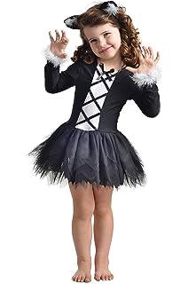 Das Beste Katze Kleid Kostum Fur Madchen Tierkostum Fur Kinder Zu