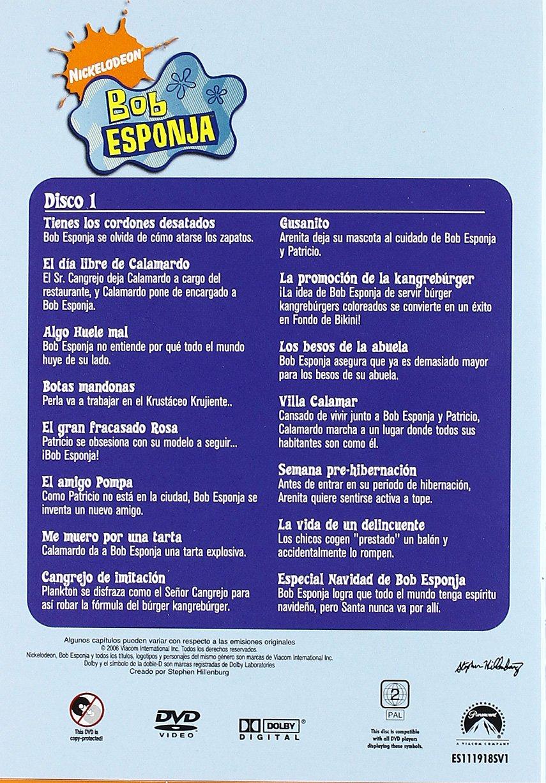 Bob Esponja (2ª temporada completa) [DVD]: Amazon.es: Personajes ...