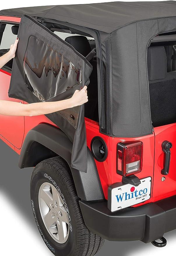 Whitco 35101835 2010-2018 Door 10-18 Wrangler 2010-18 2 DR JK Soft Top