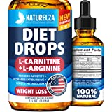 Weight Loss Drops - Made in USA - Best Diet Drops for Fat Loss - Effective Appetite Suppressant & Metabolism Booster - 100% N