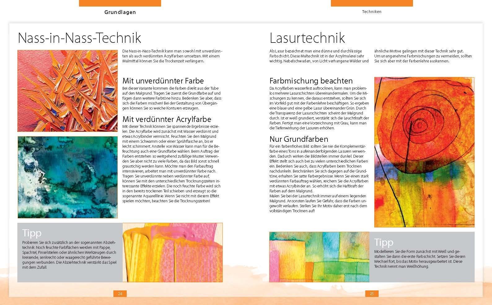Acrylmalerei: Der Weg Zum Eigenen Bild   Mit Grundlagenkurs Auf DVD:  Amazon.de: Bücher