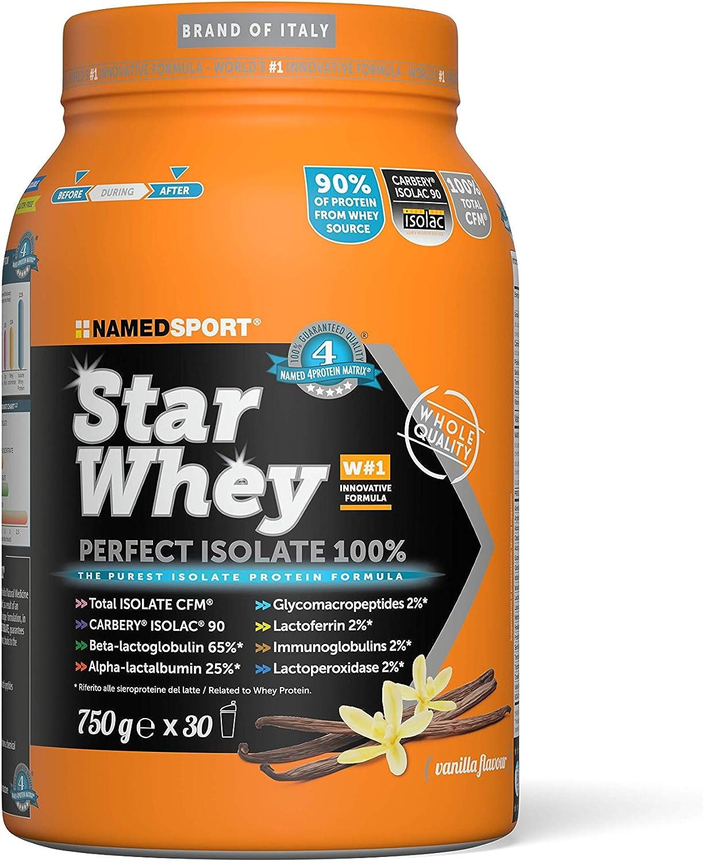 Star Whey Perfect Isolate 100% 750g Gusto Vaniglia