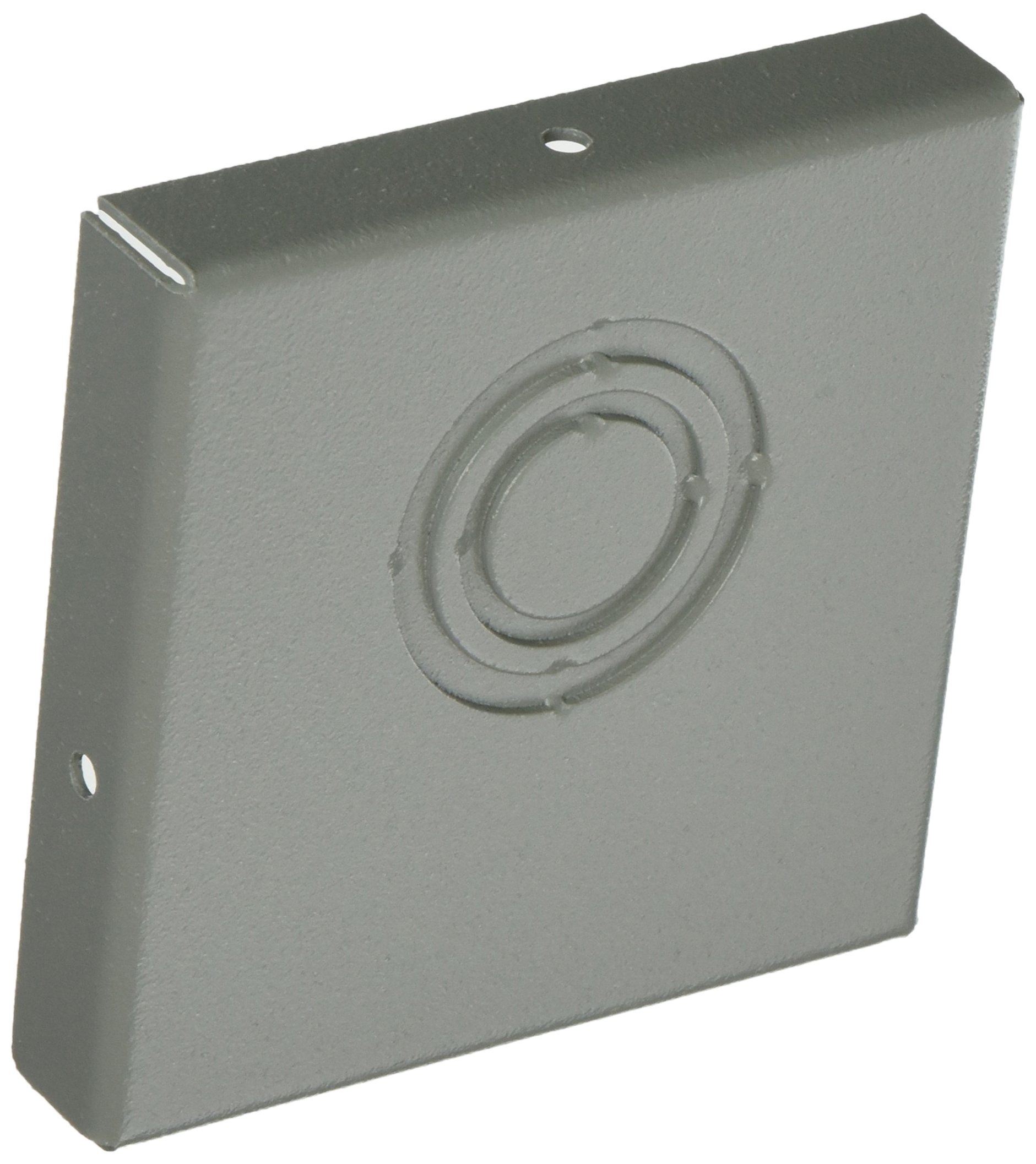 Wiegmann E0404 NEMA 1 Lay-In End Caps, Duct Fittings, Steel, 4'' x 4''