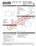 Fulham Electronic HID Ballast, H7-UNV-150HSC