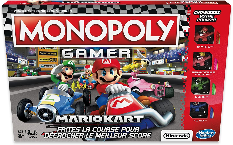 Monopoly Gamer Mario Kart - Juego de Mesa