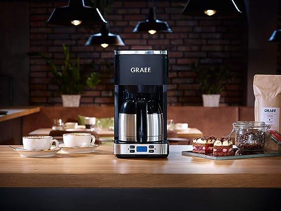 Graef FK512EU 900 - Cafetera de filtro, color negro: Amazon.es: Hogar