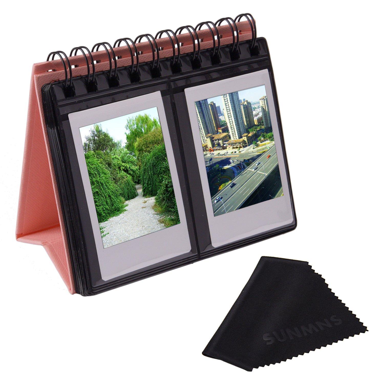 Sunmns Album fotografico in stile calendario da scrivania, per pellicole Fujifilm Instax Mini 7s, 8, 70, 50s, 90, 26, 9, Polaroid Z2300 PIC-300P Snap Zip SunmnDirect instax mini album