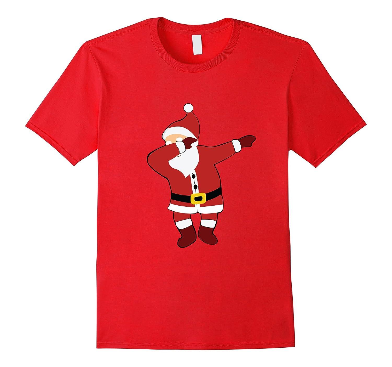 Dabbing Santa Claus Ugly Sweater T-Shirt Christmas Shirt-ANZ
