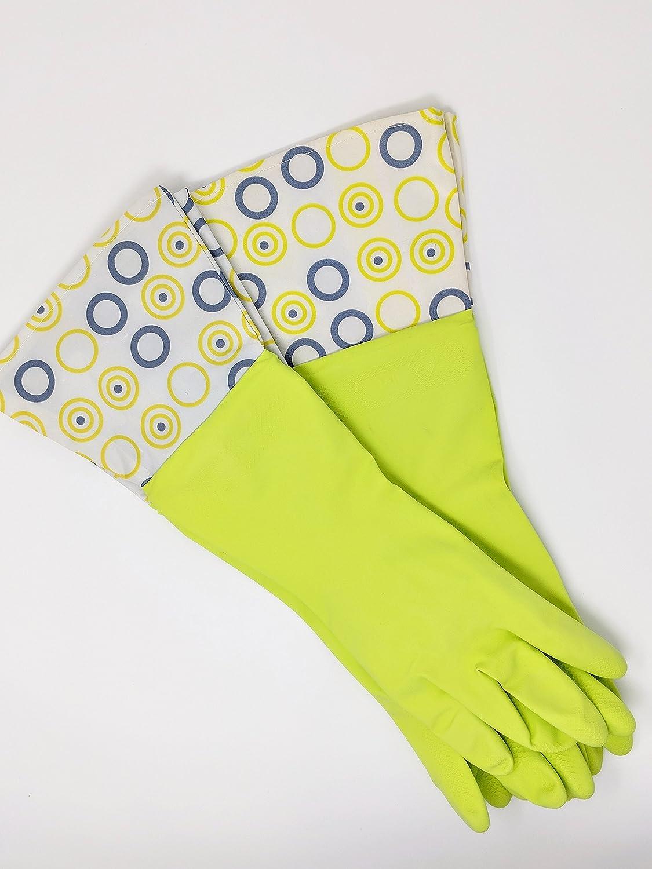 防水ラテックス手袋 – 2 -パック(グリーン)   B07DLL2DTL