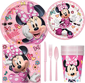 Amazon.com: Disney Minnie Mouse – Pack de suministros para ...