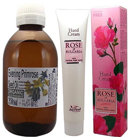 Aceite de Semilla de Onagra Orgánico 100% puro y natural 250ml 1/4 litro