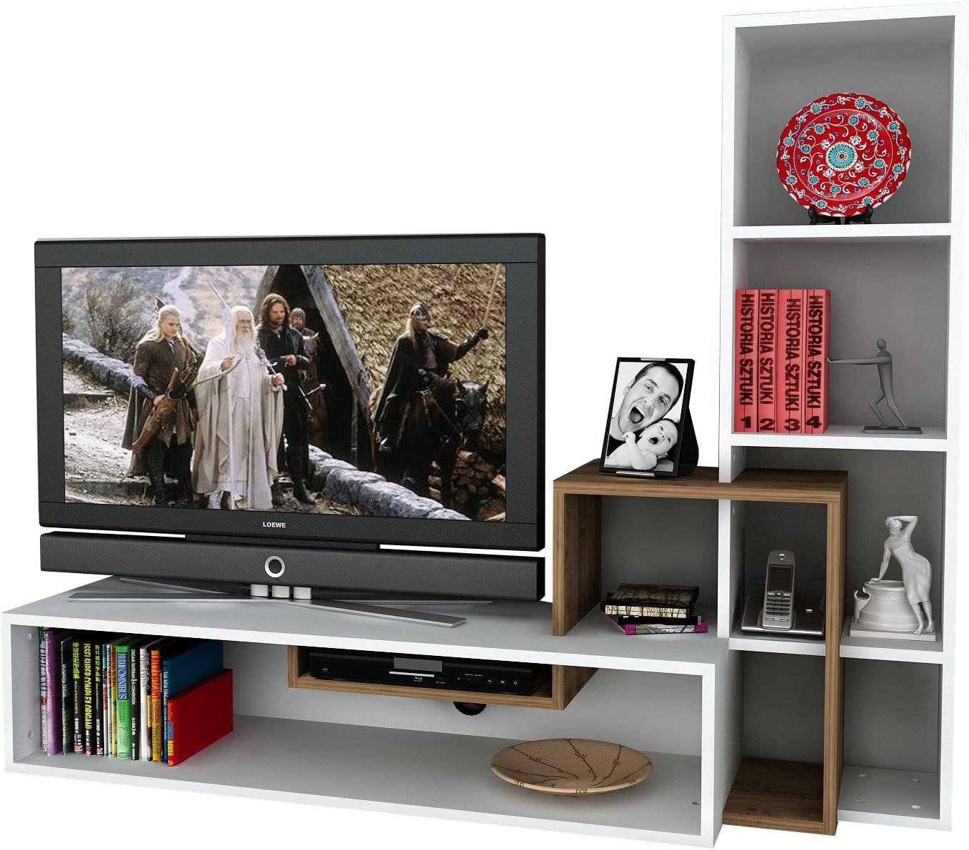 Asir Group LLC Barras de Madera Art, TV Gerat: Amazon.es: Hogar