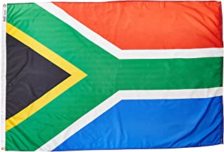 product image for Annin Flagmakers Model 197568 South Africa Flag Nylon SolarGuard NYL-Glo, 4x6 ft, 100% Made in USA to Official United Nations Design Specifications