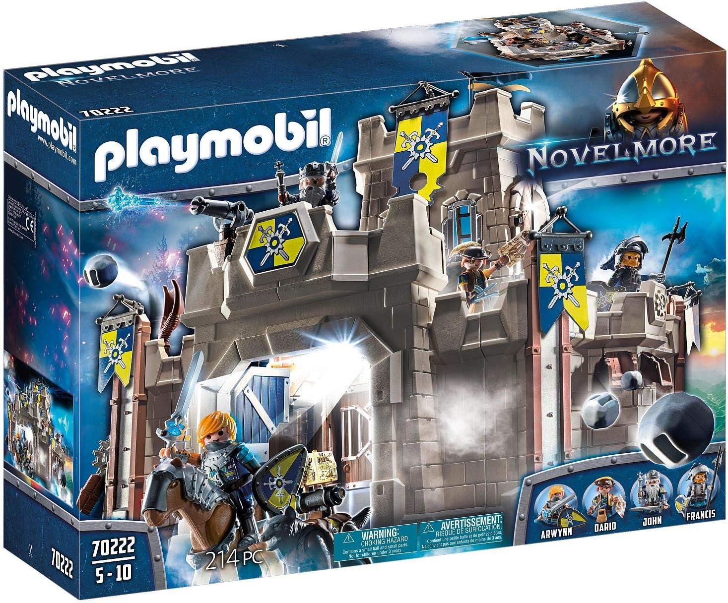 PLAYMOBIL Novelmore Fortaleza, Multicolor (70222)