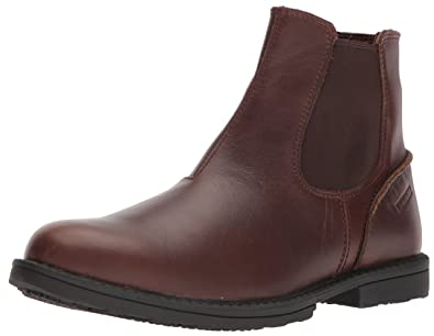 Wolverine Mens Bedford Soft-Toe Chelsea SR Boot, Brown, ...