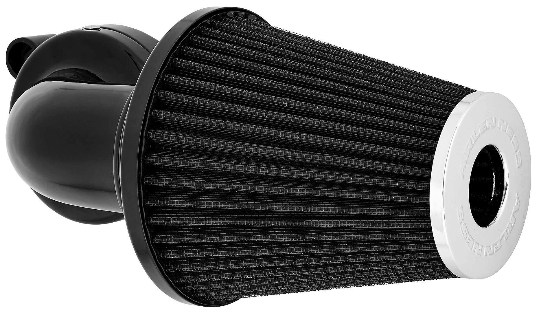 08-16 HARLEY FLHX2: Arlen Ness Monster Big Sucker Intake Kit (No Cover) (Black)