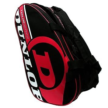 Paletero de pádel Dunlop Tour Intro Negro / Rojo: Amazon.es ...