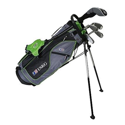 Amazon.com: US KIDS Golf ul57 6-club dv2 Stand Bag Set, Mano ...