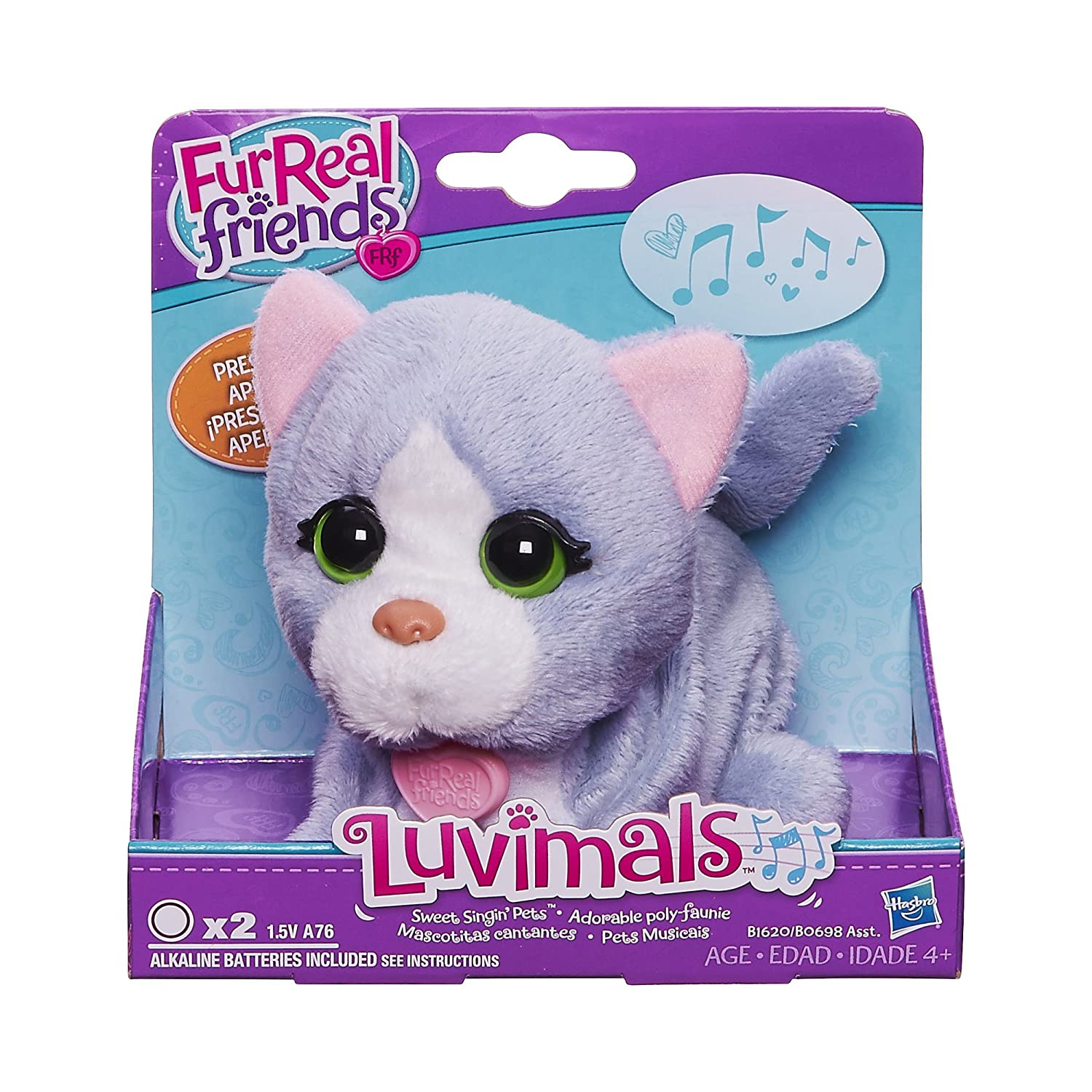 FURREAL FRIENDS LUVIMALS SWEET SINGIN KITTY PET: Amazon.es: Juguetes y juegos