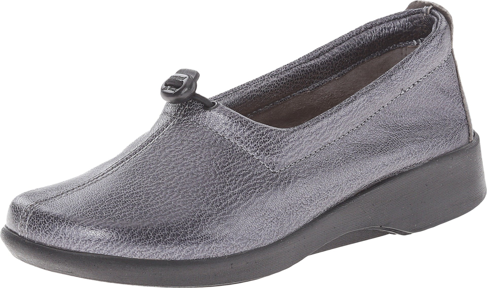 Arcopedico Womens Queen II Slip-On (7851) Pewter Size 41 EU (10-10.5 M US Women)