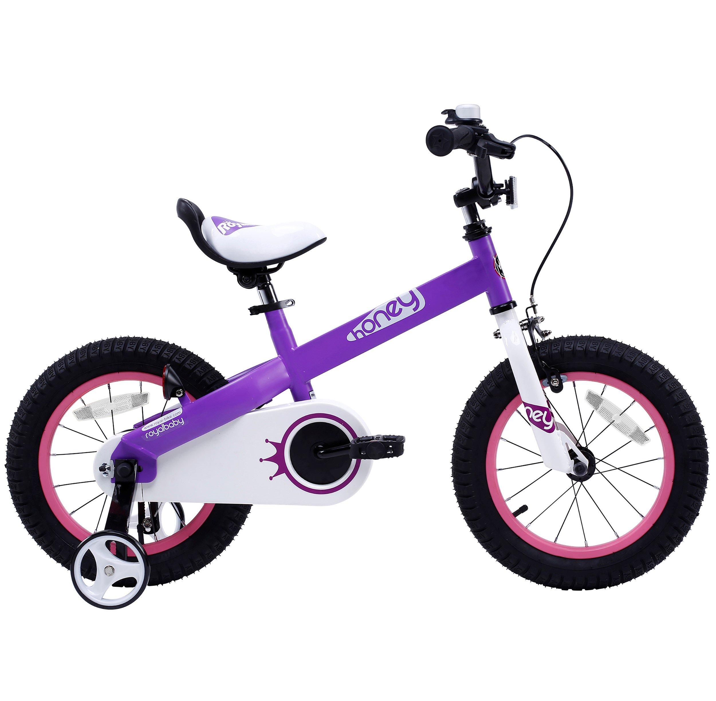 Royalbaby CubeTube Honey 12'' Bicycle for Kids, Red