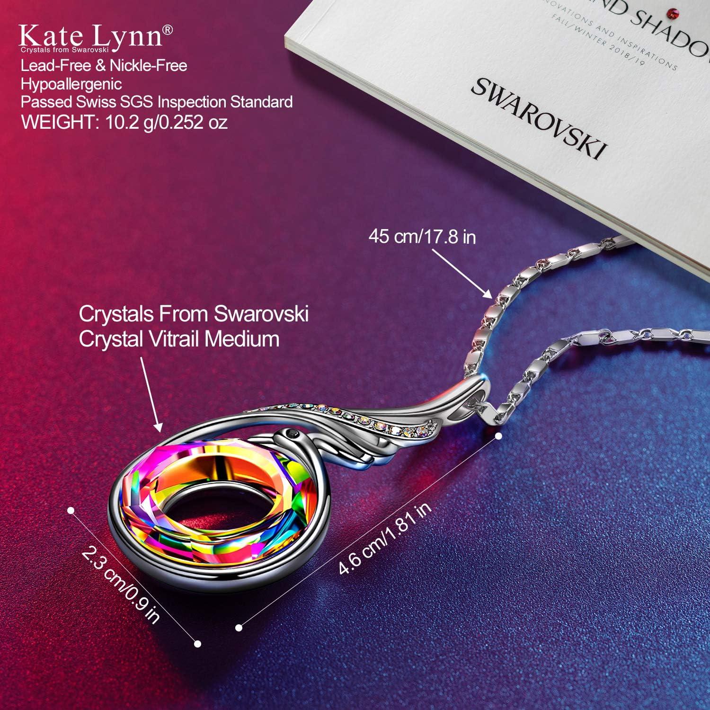 Kate Lynn Regalos Dia de la Madre Mujer F/énix Collares Originales Collares Mujer Colgantes Cristales Joyer/ía Caja de joyer/ía Conjunto de Joyas Regalo de Cumplea/ños Aniversario Esposa Mam/á Chicas