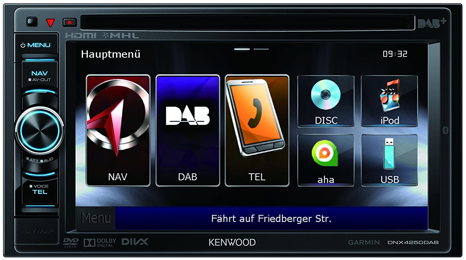 KENWOOD DNX4250DAB Multimedia Receiver DAB Driver for PC